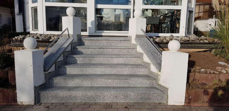 Treppen aus Naturstein von Grüne Welt bei Nürnberg